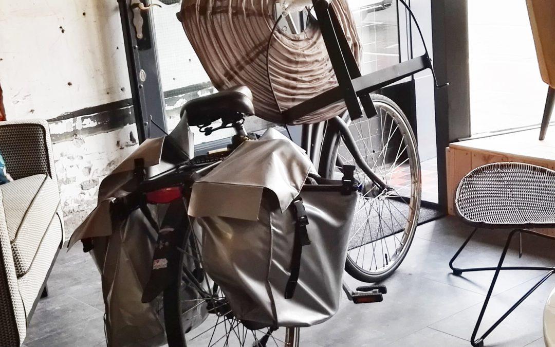 Zo, op de fiets mee naar huis