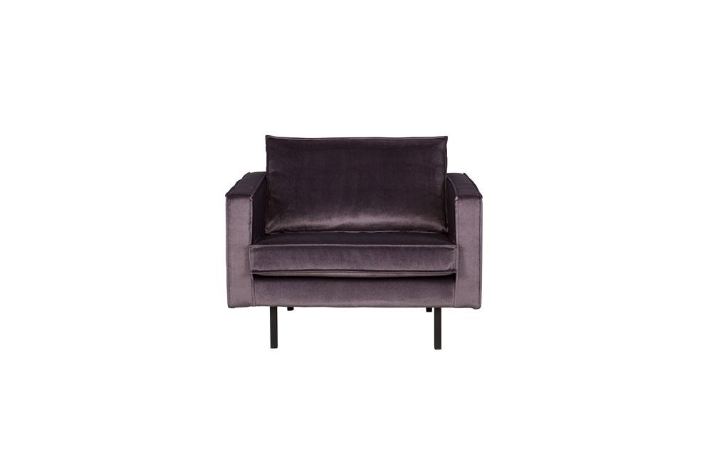 Rodeo fauteuil velvet grijs 67