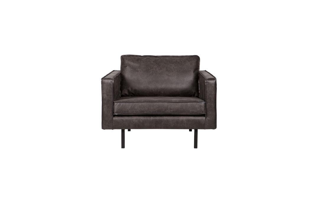 Rodeo fauteuil zwart