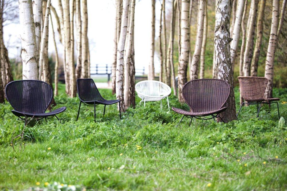 Hippe meubels voor in je tuin